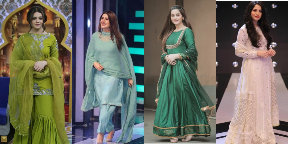 Pakistani and Indian-celebrities-in-Asian-clothing